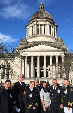 Chiefs Comimssioners at Legislative Day
