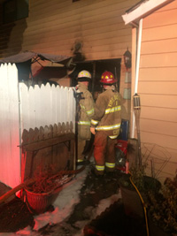 Townhouse Fire