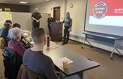 New Fire Corps volunteers attend orientation